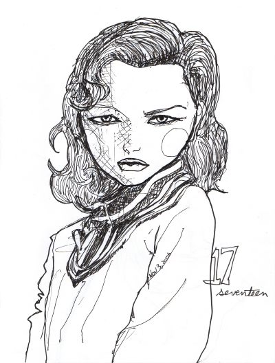 Gemma ward character sketchbook 17