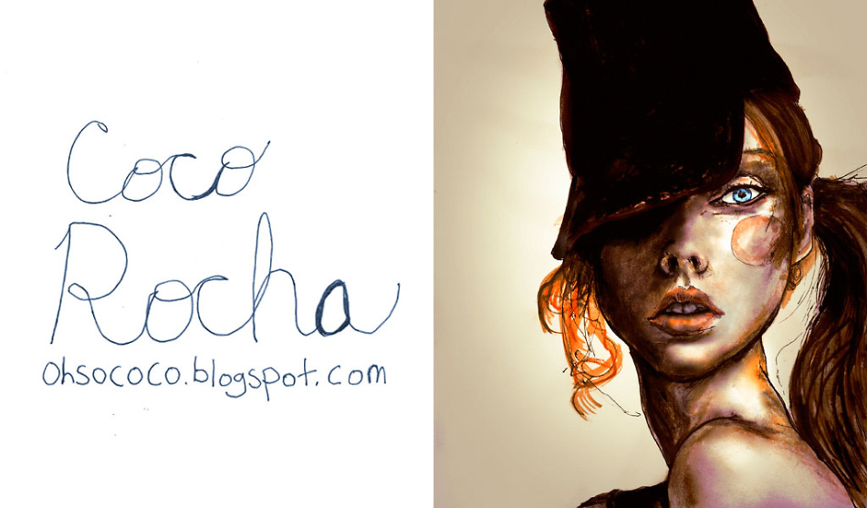 Another Blogger Portrait of Model Coco Rocha