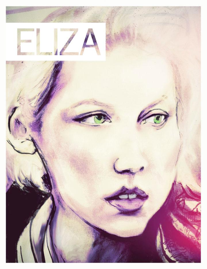 Sarah Jaffe Eliza Magazine Cover Danny Roberts June 2011