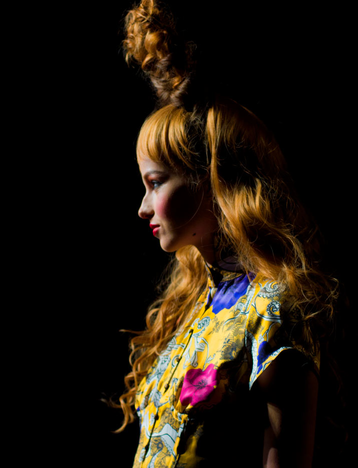 Profile Photo of a girl in Motonari Ono Spring 2012 for Tokyo Fashion Week