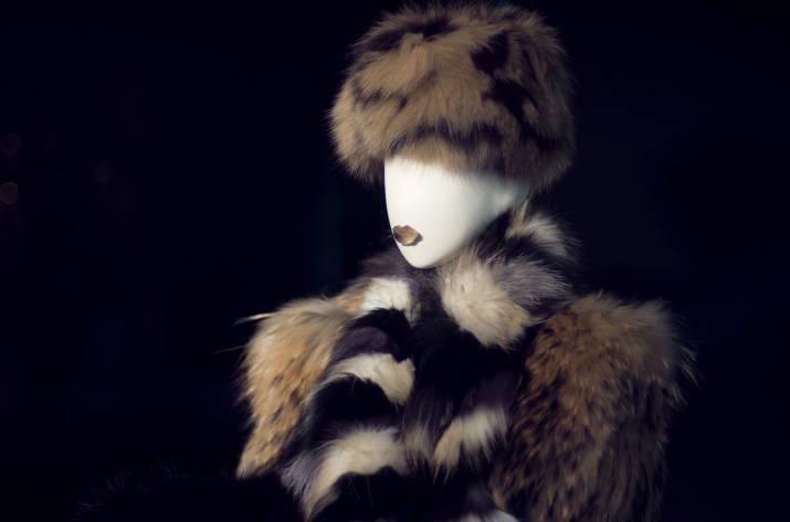 a manakin in fur in Restir tokyo