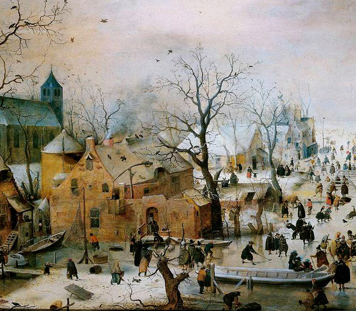 Inspiration Friday Image by Hendrick Avercamp dutch painting of  winter landscapes