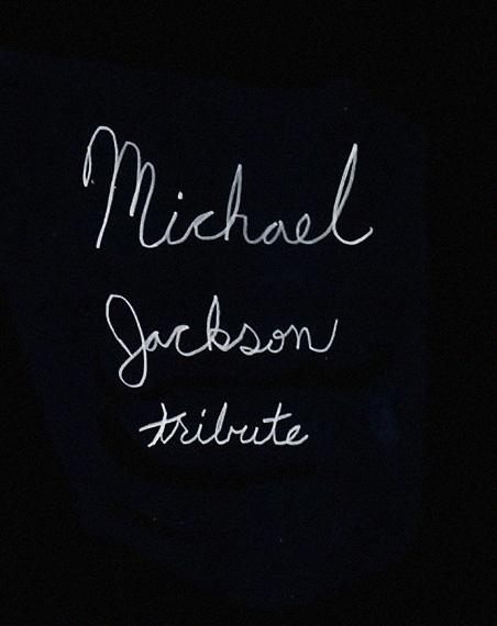 Muchael Jackson Tribute Text