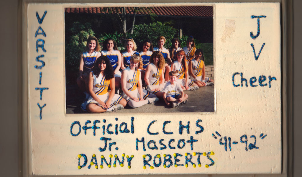 Danny Roberts and the Calvary Chapel Cheer Team Award
