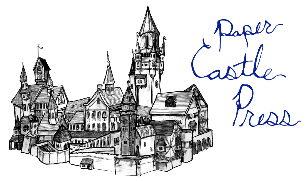 Danny Roberts Drawing of The Great Paper Castle