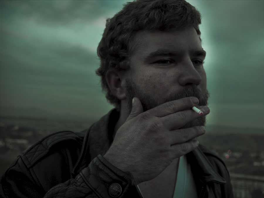 Danny Roberts Photo of Ryan Baxley Smoking