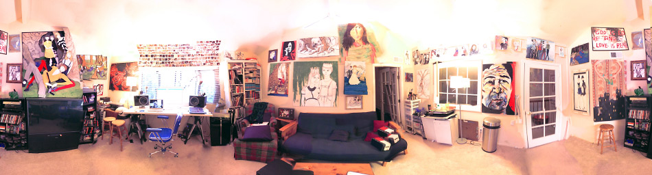 This is a Large Photo of Danny Roberts Art Studio