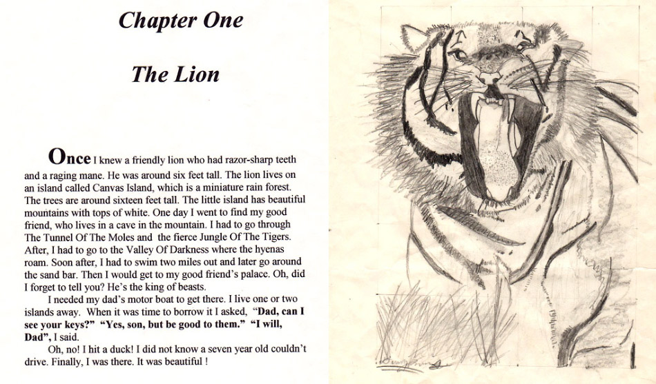 This is chapter 1 from danny roberts book the loyal lion