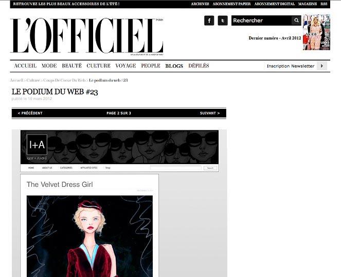 LOfficiel france feature part 1 of artist danny roberts